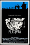 """Movie Posters:Academy Award Winners, Platoon (Orion, 1986) Rolled, Very Fine-. One Sheet (27"""" X 41"""") SS.Larry Lurin Artwork. Academy Award Winners...."""
