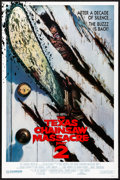 "Movie Posters:Horror, The Texas Chainsaw Massacre Part 2 (Cannon, 1986) Rolled, Very Fine-. One Sheet (27"" X 41"") Door Style. Huston Artwork. Horr..."