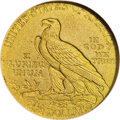 Proof Indian Quarter Eagles: , 1911 $2 1/2 PR67 NGC. The surfaces of this Superb Gem proof havebright lemon-yellow color with traces of deeper orange ton...