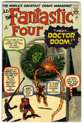 Silver Age (1956-1969):Superhero, Fantastic Four #5 (Marvel, 1962) Condition: GD/VG....