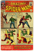 Silver Age (1956-1969):Superhero, The Amazing Spider-Man #4 (Marvel, 1963) Condition: VG-....