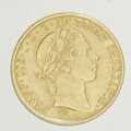 Counterstamps: , Austria 1859-A Gold Ducat, Counterstamped. A gold ducat, Krause catalog number KM-2263, struck in .9860 gold with an actual ...