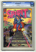 Magazines:Superhero, The Spirit #3 (Warren, 1974) CGC NM- 9.2 Off-white pages. WillEisner cover, colored by Richard Corben. Eisner art. 8 pages ...