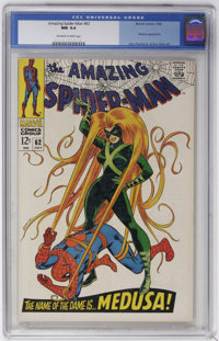 The Amazing Spider-Man #62 (Marvel, 1968) CGC NM 9.4 Off-white to white pages