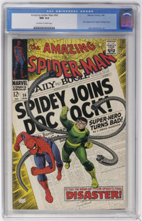 The Amazing Spider-Man #56 (Marvel, 1968) CGC NM 9.4 Off-white to white pages