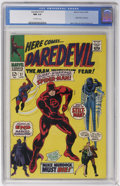 Silver Age (1956-1969):Superhero, Daredevil #27 (Marvel, 1967) CGC NM 9.4 Off-white pages....