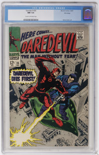 Daredevil #35 (Marvel, 1967) CGC NM 9.4 Cream to off-white pages