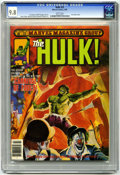 Magazines:Superhero, Hulk #25 (Marvel, 1981) CGC NM/MT 9.8 White pages. Joe Jusko cover.Gene Colan, Alfredo Alcala, and Howard Chaykin art. Over...
