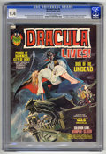 Magazines:Horror, Dracula Lives! #3 (Marvel, 1973) CGC NM 9.4 Off-white to white pages. ...