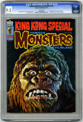 Bronze Age (1970-1979):Horror, Famous Monsters of Filmland #132 (Warren, 1977) CGC NM- 9.2 Whitepages. Basil Gogos cover. Overstreet 2005 NM- value = $40....