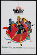 """Movie Posters:Action, Modesty Blaise (20th Century Fox, 1966). One Sheet (27"""" X 41""""). SpyThriller. Starring Monica Vitti, Terence Stamp, Dirk Bog..."""