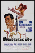 "Movie Posters:Action, Murderers' Row (Columbia, 1966). One Sheet (27"" X 41""). ActionAdventure. Starring Dean Martin (as Matt Helm), Ann-Margret, ..."