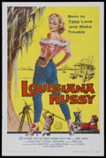 "Movie Posters:Bad Girl, Louisiana Hussy (Howco, 1959). One Sheet (27"" X 41""). Drama.Starring Nan Peterson, Peter Coe, Robert Richards and Betty Lyn..."