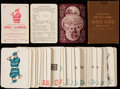 """Baseball Cards:Sets, 1884 Lawson's Patent Game """"Base Ball"""" Playing Cards Complete Set (38) - Upscale Variation. ..."""
