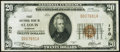 National Bank Notes:Missouri, Saint Louis, MO - $20 1929 Ty. 1 First NB Ch. # 170 VeryFine-Extremely Fine.. ...