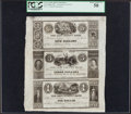 Obsoletes By State:Michigan, La Grange, MI- Cass County Bank $5-$3-$1 ND circa 1850s PCGS Choice About New 58.. ...