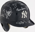 Autographs:Others, 1996 New York Yankees - World Series Champs - Team Signed Helmet(20+ Signatures)....