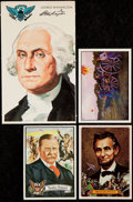 """Non-Sport Cards:Sets, 1972-1986 """"U.S. Presidents"""" Complete Sets Lot of Four (4)...."""