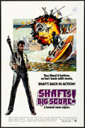 "Movie Posters:Blaxploitation, Shaft's Big Score! (MGM, 1972) Folded, Very Fine-. One Sheet (27"" X 41""). John Solie Artwork. Blaxploitation...."