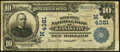 National Bank Notes:Missouri, Kansas City, MO - $10 1902 Date Back Fr. 619 The Inter-State NB Ch.# (M)4381 Very Good-Fine.. ...