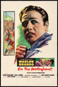 "Movie Posters:Academy Award Winners, On the Waterfront (Columbia, 1954) Folded, Fine/Very Fine. OneSheet (27"" X 41""). Academy Award Winners...."