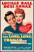 "Movie Posters:Comedy, The Long, Long Trailer (MGM, 1954) Folded, Fine/Very Fine. OneSheet (27"" X 41""). Comedy...."