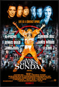 "Movie Posters:Sports, Any Given Sunday & Other Lot (Warner Brothers, 1999) Rolled, Overall Grade: Very Fine. One Sheets (3) (27"" X 40"" & 27"" X 41""... (Total: 3 Items)"