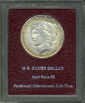Additional Certified Coins: , 1923-S S$1 Peace Dollar MS65 Paramount International (MS64)....