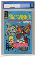 Bronze Age (1970-1979):Cartoon Character, Bullwinkle #4 (Gold Key, 1972) CGC NM 9.4 Off-white to white pages.Overstreet 2004 NM- 9.2 value = $65. CGC census 2/05: 3 ...