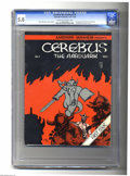 Bronze Age (1970-1979):Alternative/Underground, Cerebus The Aardvark #1 (Aardvark-Vanaheim, 1977) CGC VG/FN 5.0 Cream to off-white pages. This book holds the honor of being...