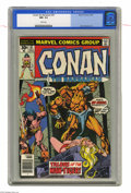 Bronze Age (1970-1979):Miscellaneous, Conan the Barbarian #67 (Marvel, 1976) CGC NM- 9.2 White pages. GilKane cover. John Buscema art. Overstreet 2004 NM- 9.2 va...