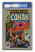 Bronze Age (1970-1979):Miscellaneous, Conan the Barbarian #79 (Marvel, 1977) CGC NM 9.4 White pages. JohnBuscema cover. Howard Chaykin art. Overstreet 2004 NM- 9...