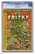 Golden Age (1938-1955):Funny Animal, Frisky Fables #40 (Star Publications, 1950) CGC VF- 7.5 Off-white pages. Christmas cover by L. B. Cole. Overstreet 2004 VF 8...