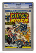 Bronze Age (1970-1979):Superhero, Ghost Rider #3 (Marvel, 1973) CGC VF/NM 9.0 Off-white to white pages. Ghost rider gets new cycle. Son of Satan cameo. John R...