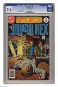 Bronze Age (1970-1979):Western, Jonah Hex #1 (DC, 1977) CGC NM+ 9.6 White pages. Jose Garcia-Lopez cover and art. Overstreet 2004 NM- 9.2 value = $140. CGC ...