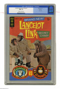Silver Age (1956-1969):Humor, Lancelot Link Secret Chimp #1 File Copy (Gold Key, 1971) CGC NM- 9.2 Off-white to white pages. Photo cover. Overstreet 2004 ...