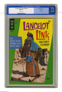 Lancelot Link Secret Chimp #3 File Copy (Gold Key, 1971) CGC NM- 9.2 Off-white pages. Photo cover. Currently ranks as th...