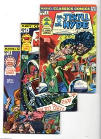 Marvel Classics Comics Group (Marvel, 1976-78) Condition: Average VF. This group is only one issue short of a full run o...