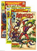 Silver Age (1956-1969):Superhero, Marvel Silver Age Group (Marvel, 1967-70). Lot of 15 books, averaging VG/FN condition unless otherwise noted, includes: Av... (Total: 15 Comic Books Item)