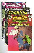 Bronze Age (1970-1979):Horror, The Phantom Stranger #24 through 41 Group (DC, 1973-76) Condition:Average VF+. This group contains issues #24, 25, 26, 27, ...(Total: 18 Comic Books Item)