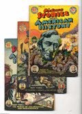 Golden Age (1938-1955):Non-Fiction, Picture Stories From American History Group (EC, 1945-47)Condition: Average GD. This group includes #1 (FR/GD), 2 (VG), 3(... (Total: 4 Comic Books Item)