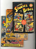 Golden Age (1938-1955):Religious, Picture Stories from the Bible Group (Various, 1940s). This lotconsists of EC's Complete Old Testament Edition (VG+, 65¢ co...(Total: 5 Comic Books Item)