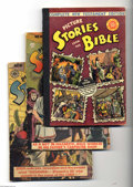 Golden Age (1938-1955):Religious, Picture Stories from the Bible (New Testament) Group (Various,1944-46). This lot consists of EC's Complete New Testament Ed...(Total: 4 Comic Books Item)