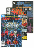 Books:Miscellaneous, Star Trek Group (DC, 1984-95) Condition: Average VF/NM. This group consists of 10 comics: #Star Trek #1 (1984) (two copi... (Total: 10 Comic Books Item)
