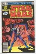 Modern Age (1980-Present):Science Fiction, Star Wars Annual #2 (Marvel, 1982) Condition: FN/VF. Anundocumented copy of this issue with a $1.25 cover price (most were...