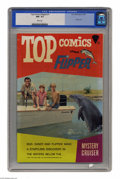 Silver Age (1956-1969):Adventure, Top Comics #1 Flipper (K. K. Publications, Inc., 1967) CGC NM- 9.2 White pages. Photo cover. Overstreet 2004 NM- 9.2 value =...