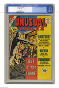 Silver Age (1956-1969):Horror, Unusual Tales #32 (Charlton, 1962) CGC NM 9.4 Off-white pages.Overstreet 2004 NM- 9.2 value = $45. From the collectionof...