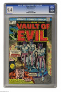 Bronze Age (1970-1979):Horror, Vault of Evil #19 (Marvel, 1975) CGC NM 9.4 Off-white to whitepages. Only one copy of this issue currently grades higher wi...