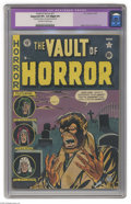 Golden Age (1938-1955):Horror, Vault of Horror #17 (EC, 1951) CGC Apparent VF+ 8.5 Slight (P)Off-white to white pages. Classic Werewolf cover by Johnny Cr...