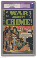 Golden Age (1938-1955):Crime, War Against Crime #11 (EC, 1950) CGC Apparent VF/NM 9.0 Slight (P) Off-white to white pages. EC's first horror cover. The se...